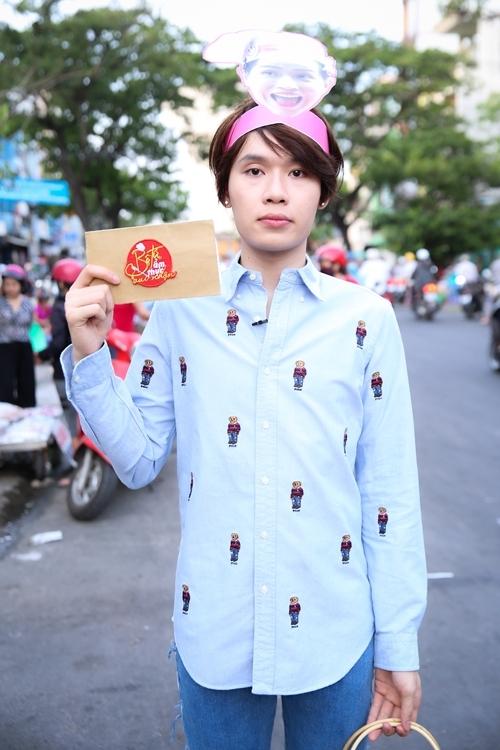 Quang Trung bất ngờ trước yêu cầu từ ban tổ chức.
